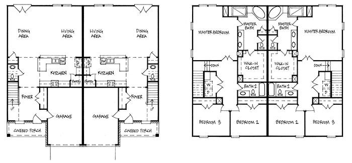 Landcraft Homes Plans & Renderings